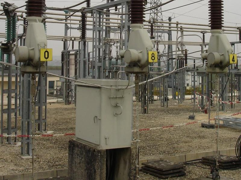 View of distribution substation (EDF).